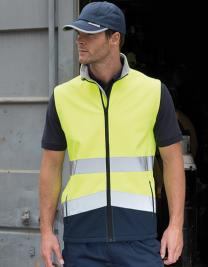 Printable Safety Softshell Gilet